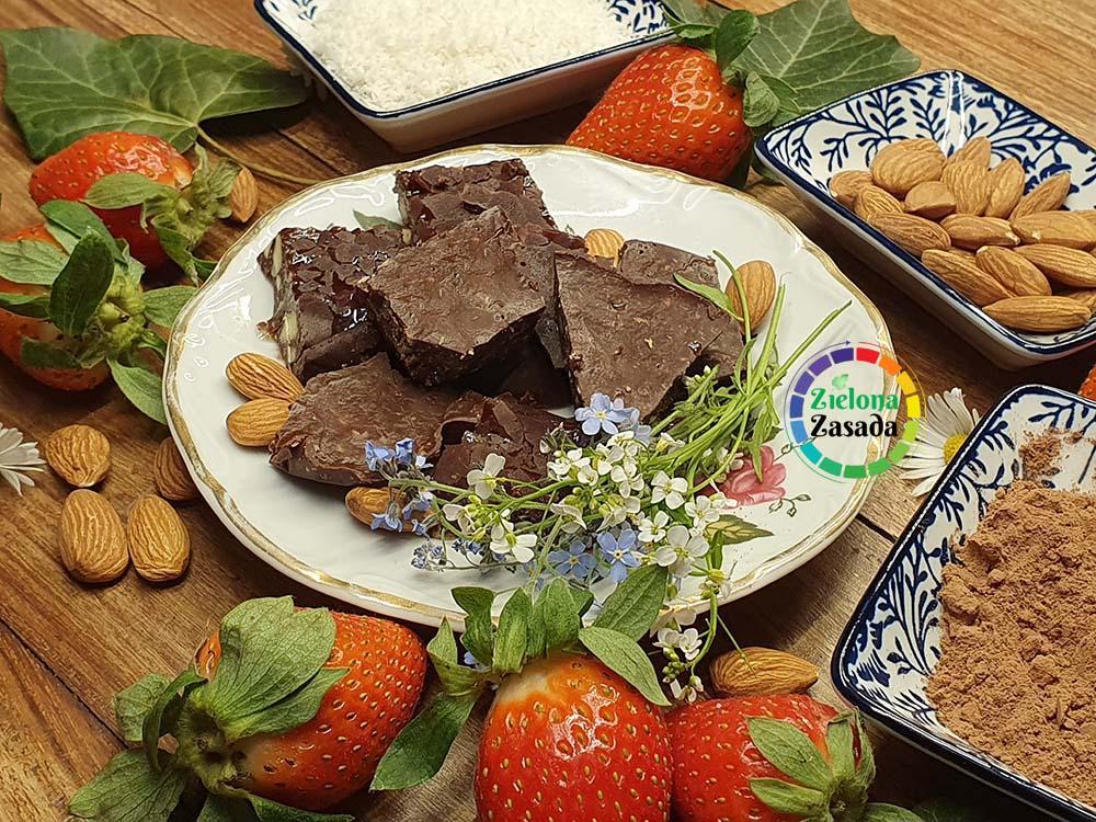 czekolada z oleju kokosowego